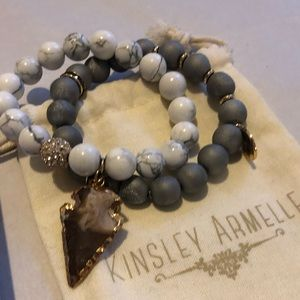 Jewelry - Kinsley Armell bracelets with box and pouch